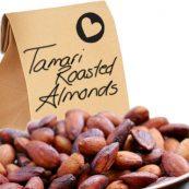 Tamari roasted almonds
