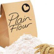 Plain White Flour large