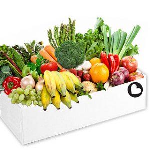 $70 large fruit and veg box