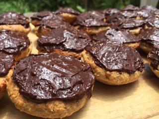 Chocolate_Iced_Gluten_Free_Muffins